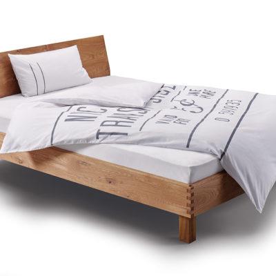 Step-X Bett mitgewinkeltem Kopfteil