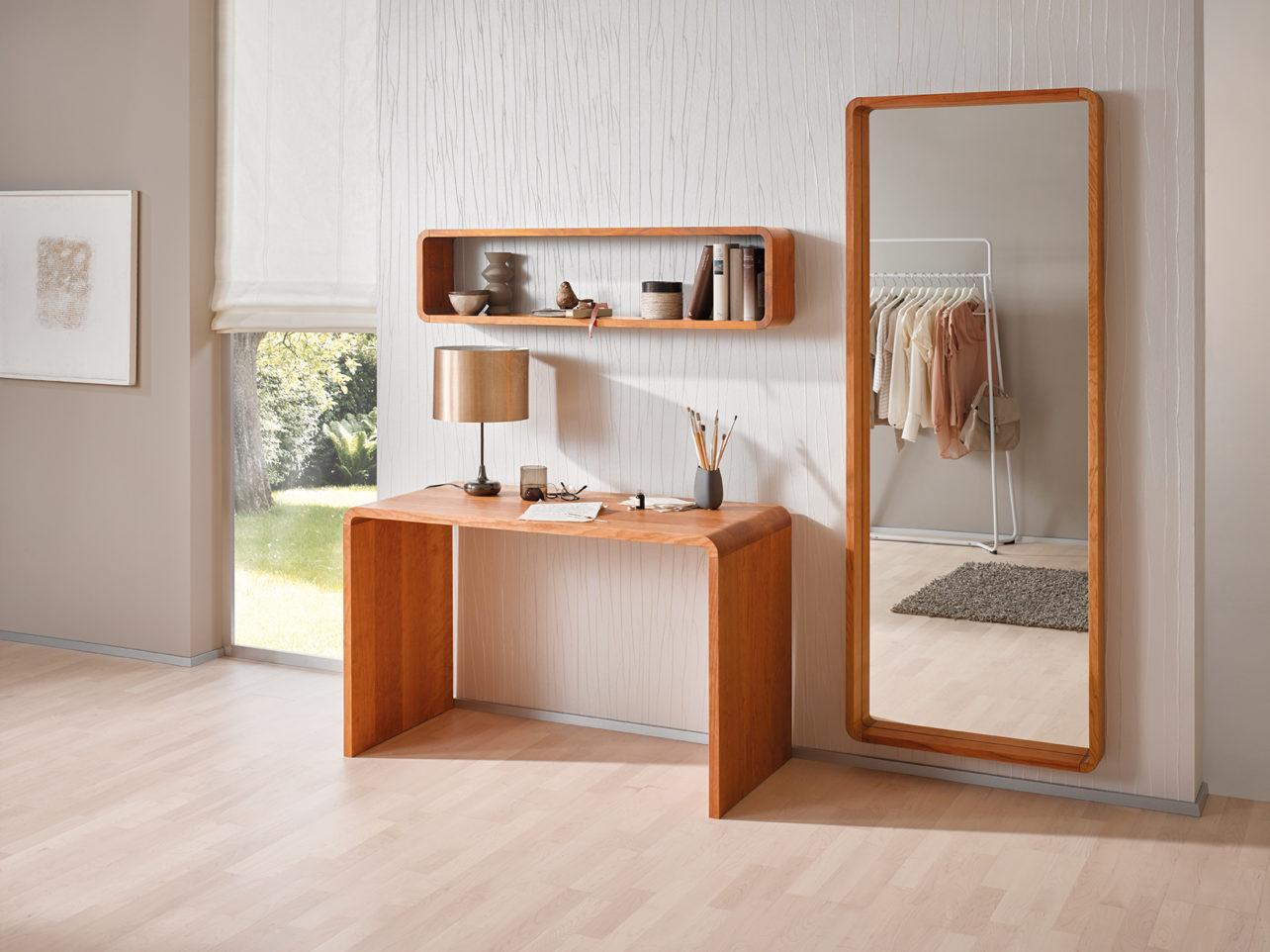 Com:ci Schreibtisch mit Regal 01 und Spiegel