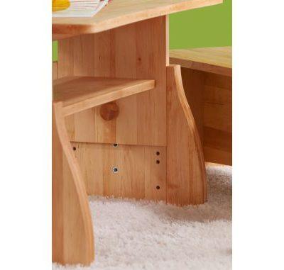 Triolino Tisch mit Höhenverstellung, Detail