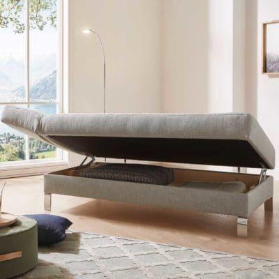 Liege Salto mit integriertem Bettkasten