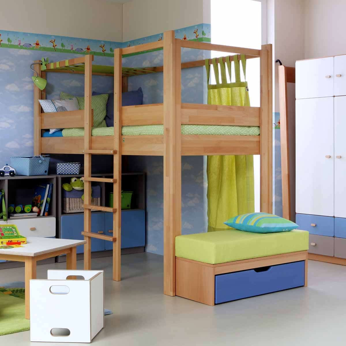 hochbett destyle b hm natur darmstadt. Black Bedroom Furniture Sets. Home Design Ideas